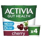 Activia 0% Fat Cherry Yogurts