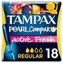 Tampax Compak Pearl Active Regular Tampons