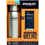 Stanley Adventure Gift Set Vacuum Bottle & Stainless Steel Flask