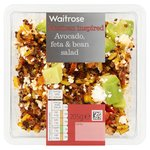 Waitrose Avocado, Feta & Bean Salad