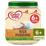 Cow & Gate Rice Pudding Jar