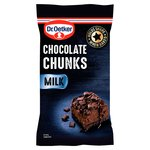 Dr Oetker Milk Chocolate Chunks