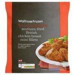 Frozen Southern Fried Mini Chicken Fillets Waitrose