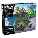 K'NEX Revvin' Racecar 2 in 1 Building Set 7+