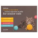 Variety Selection in Jelly for Senior Cats Waitrose