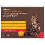Meat & Poultry Selection in Jelly & Gravy Waitrose