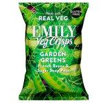 Emily Veg Crisps Crunchy Spring Greens