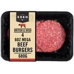 Eden 4  Mega Burgers
