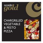 Ocado Gold Chargrilled Vegetable & Pesto Pizza