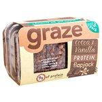 Graze Cocoa & Vanilla Protein Flapjack