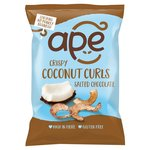Ape Crispy Coconut Curls Salted Chocolate