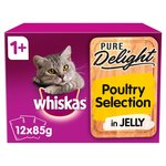 Whiskas  Casseroles 1+ Poultry in Jelly