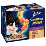 Felix Sensations Jellies Cat Food Mixed