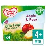 Cow & Gate Apple & Pear Fruit Pots