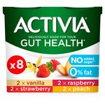 Activia 0% Fat Yogurts