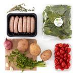 Wholegood Organic Recipe Box Sausage & Cherry Tomato Tray Bake