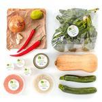 Wholegood Organic Recipe Box Squash Coconut Curry