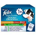 Felix As Good As It Looks Doubly Beef & Poultry in Jelly