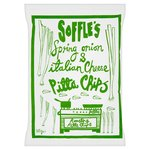 Soffles Pitta Chips Spring Onion & Italian Cheese Share Bag