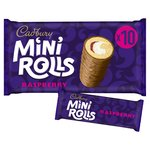 Cadbury Mini Rolls Raspberry Family Size