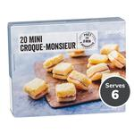 Picard 20 Mini Croque Monsieur Frozen