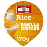 Muller Rice Vanilla Custard Low Fat Dessert
