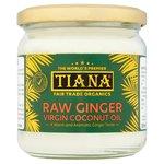 Tiana Fair Trade Organic Raw Ginger Virgin Coconut Oil