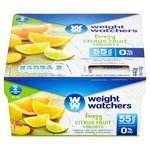 Weight Watchers Citrus Fruit Yogurts