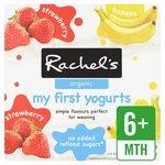 Rachel's Organic My First Fruit Yogurts