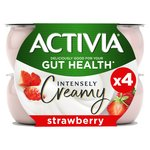 Activia Intensely Greek Style Strawberry Yogurts