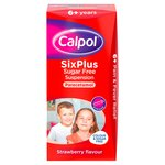 Calpol 6+ Sugar Free Strawberry Liquid