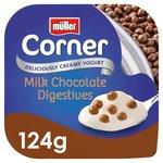 Muller Corner Chocolate Digestive Crunch Corner Yogurt