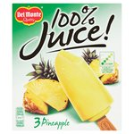 Del Monte 100% Pineapple Juice Lollies