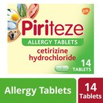 Piriteze Allergy Tablets