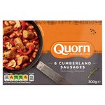 Quorn 6 Frozen Cumberland Sausages