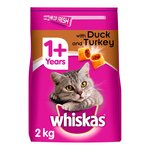 Whiskas Cat Complete Dry Duck & Turkey