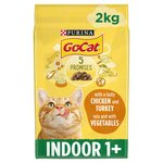 Go-Cat Complete Adult for Indoor Cats with Chicken & Vegetables