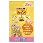 Go-Cat Complete Kitten up to 1 Year with Chicken, Carrots & Milk Nuggets