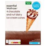 Vanilla & Chocolate Cone essential Waitrose