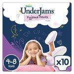 Pampers Underjams Girl 4-8 Years