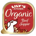 Lily's Kitchen Proper Dog Food Organic Beef & Spelt Supper