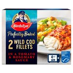 Birds Eye Inspirations 2 Cod Fillets In a Tomato & Rosemary Sauce Frozen