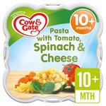Cow & Gate Pasta with Tomato, Spinach & Cheese Steamed Meal