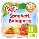 Cow & Gate 10 Mths+ Spaghetti Bolognese Little Steamed Meal