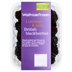 Waitrose British Blackberries Frozen