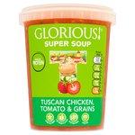 Glorious! Tuscan Chicken & Orzo Soup