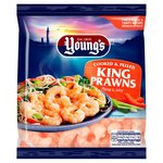 Young's Cooked & Peeled King Prawns Frozen