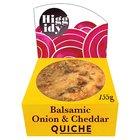 Higgidy Little Quiche Balsamic Onion & Cheddar