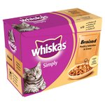 Whiskas Simply Cat Pouch Poultry in Gravy
