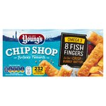 Young's Chip Shop 8 Battered Fish Fingers Frozen